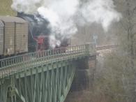 Eröffnungsfahrt der Sauschwänzlebahn 04/2013